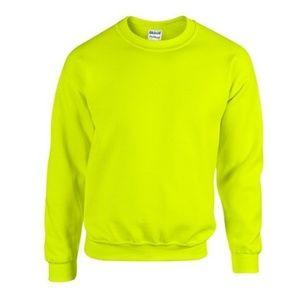 3/$50 Bright Yellow Green Crewneck Sweater